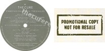 Standing on a beach  The singles (issued 1986). With promo stamp on back sleeve. - Thanks to john77.
